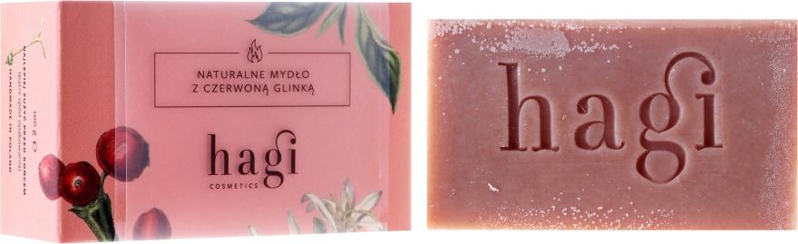 Sapone naturale all'argilla rossa e achillea - Hagi Soap