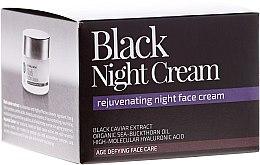 """Profumi e cosmetici Crema viso da notte """"Notte nera"""" - Natura Siberica Fresh Spa Imperial Caviar Black Night Cream"""