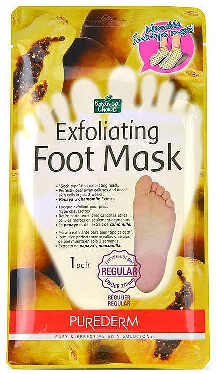 Calzini peeling per i piedi - Purederm Exfoliating Foot Mask