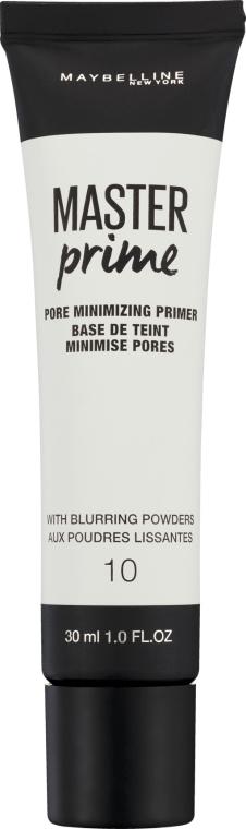 Primer correttore - Maybelline Master Prime 10 Pore Minimizing