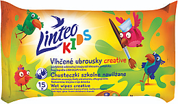 Profumi e cosmetici Salviettine umidificate per bambini - Linteo Kids Creative