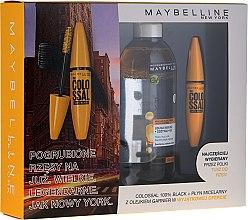 Profumi e cosmetici Set - Maybelline (mascara/10.7ml + mic/water/400ml)
