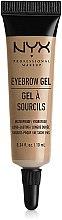 Profumi e cosmetici Gel per sopracciglia - NYX Professional Makeup Eyebrow Gel