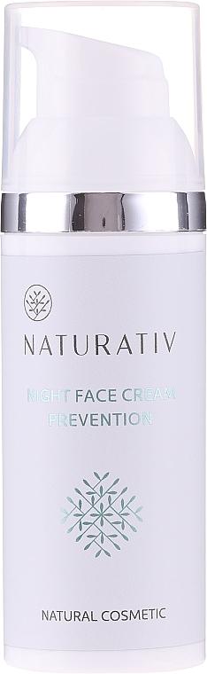 Crema viso da notte - Naturativ Facial Night Cream 30+
