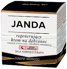 Profumi e cosmetici Crema viso rigenerante da notte - Janda Strong Regeneration Good Night Cream