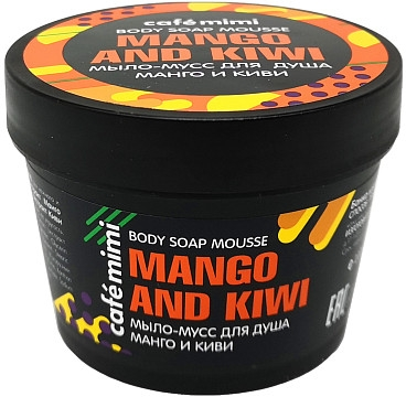 "Mousse doccia ""Mango e Kiwi"" - Cafe Mimi Body Soap Mousse Mango And Kiwi"