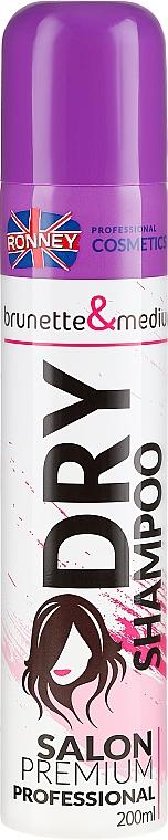 Shampoo secco per capelli castani - Ronney Dry Shampoo Brunette & Medium