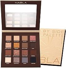 Profumi e cosmetici Palette ombretti - Nabla Side By Side Nude Palette