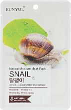 Profumi e cosmetici Maschera in tessuto alla bava di lumaca - Eunyul Natural Moisture Mask Pack