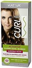 Profumi e cosmetici Spray ristrutturante attivaricci per capelli - Kativa Keep Curl Superfruit Active