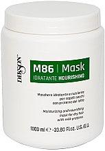 Profumi e cosmetici Maschera idratante e nutriente per capelli secchi con proteine del latte - Dikson M86 Nourishing Mask