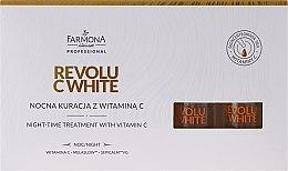Profumi e cosmetici Concentrato per la notte con la vitamina C - Farmona Revolu C White