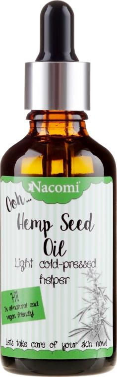 Olio capelli con semi di canapa, con pipetta - Nacomi Hemp Seed Oil