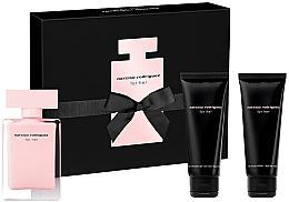 Profumi e cosmetici Narciso Rodriguez For Her - Set (edt/50ml + b/lot/75ml + sh/gel/75ml)