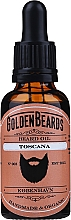 "Profumi e cosmetici Olio da barba ""Toscana"" - Golden Beards Beard Oil"