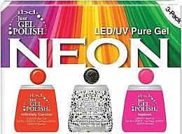 Profumi e cosmetici Set - IBD Just Gel Polish Neon Kit (gel/polish/3*14ml)