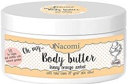 """Profumi e cosmetici Burro corpo """"Sorbetto all'arancia"""" - Nacomi Body Butter Sunny Orange Sorbet"""