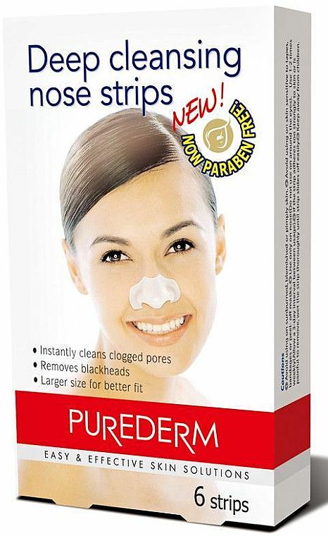 Cerrotti detergenti per naso - Purederm Deep Cleansing Nose Pore Strips — foto N1