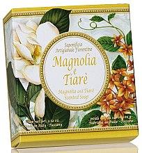 """Profumi e cosmetici Sapone naturale """"Magnolia e Tiare"""" - Saponificio Artigianale Fiorentino Magnolia & Tiare Soap"""