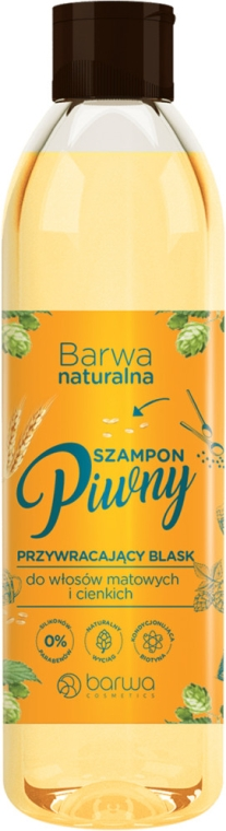 Shampoo alla birra - Barwa Natural Beer Shampoo With Vitamin Complex