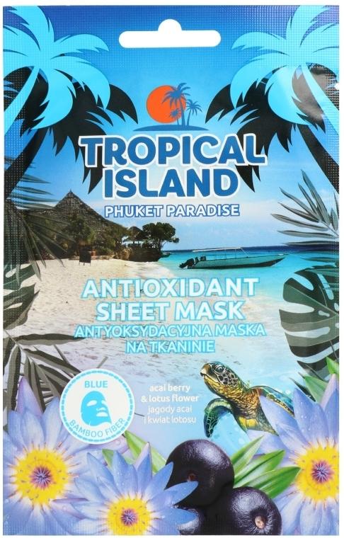 Maschera in tessuto - Marion Tropical Island Phuket Paradise Antioxidant Sheet Mask — foto N1
