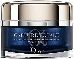 Profumi e cosmetici Crema rigenerante viso e collo, notte - Dior Dior Capture Totale Nuit Intensive Night Restorative Creme