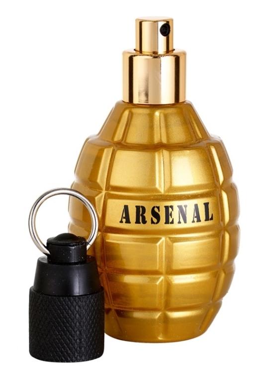 Gilles Cantuel Arsenal Gold - Eau de Parfum — foto N4