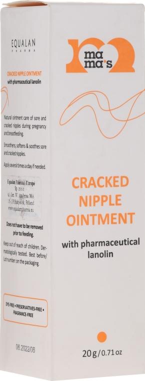 Unguento per capezzoli screpolati con lanolina - Mama's Cracked Nipple Ointment With Pharmaceutical Grade Lanolin