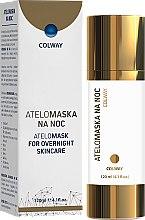 Profumi e cosmetici Maschera vizo al collagene - Colway AteloMask for Overnight Skincare