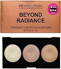 Palette illuminanti - Makeup Revolution Highlighter Palette Beyond Radiance — foto N1
