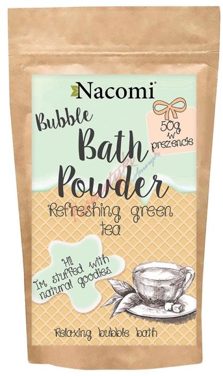 Polvere da bagno - Nacomi Refreshing Green Tea Bath Powder