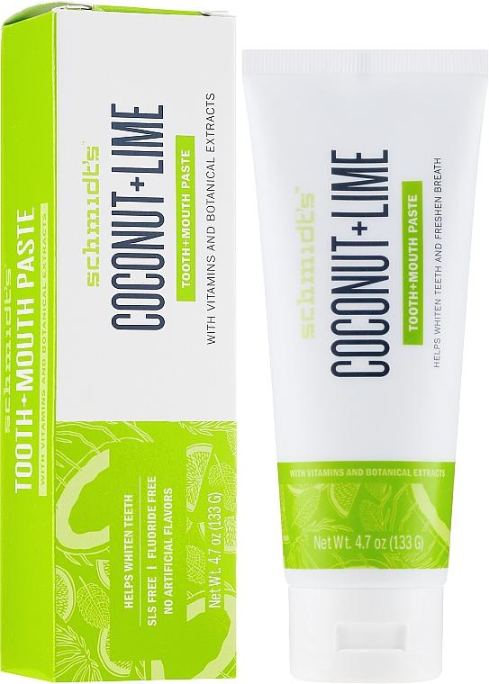 Dentifricio - Schmidt's Coconut Lime Toothpaste