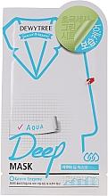 Profumi e cosmetici Maschera viso idratante - Dewytree Aqua Deep Mask