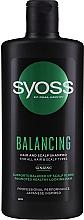 Profumi e cosmetici Shampoo al ginseng per tutti i tipi di capelli - Syoss Balancing Ginseng Shampoo