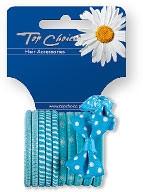 Elastici per capelli 12 pz, 22067 - Top Choice — foto N1