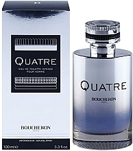 Profumi e cosmetici Boucheron Quatre Boucheron Intense Pour Homme - Eau de Toilette