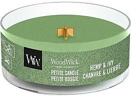Profumi e cosmetici Candela profumata in vetro - WoodWick Petite Candle Hemp And Ivy