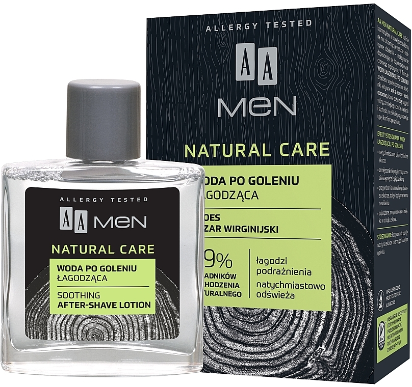 Lozione dopobarba - AA Men Natural Care Sooting After-Shave Lotion