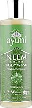 """Profumi e cosmetici Gel doccia """"Neem e albero del tè"""" - Ayumi Neem & Tea Tree Body Wash"""