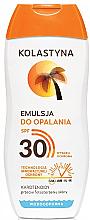 Profumi e cosmetici Protezione solare - Kolastyna Suncare Emulsion SPF 30