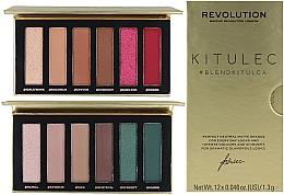 Profumi e cosmetici Set - Makeup Revolution Kitulec #BlendKitulca Shadow Palette (2xsh/palette/7.8g)