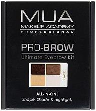 Profumi e cosmetici Set per la correzione delle sopracciglia - MUA Pro-Brow Ultimate Eye Brow Kit