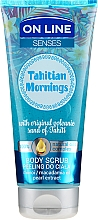 Profumi e cosmetici Scrub corpo - On Line Senses Body Scrub Tahitian Morning