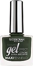 Profumi e cosmetici Smalto unghie - Deborah Gel Effect Nail Enamel