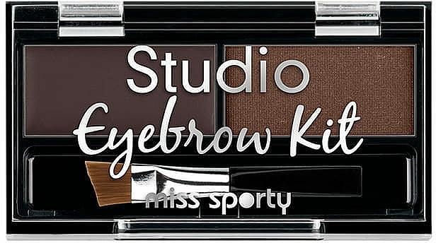 Set per sopracciglia - Miss Sporty Studio Eyebrow Kit (2.4 g)