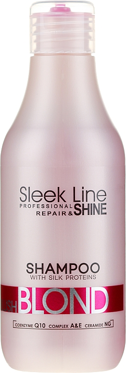 Shampoo per capelli - Stapiz Sleek Line Blush Blond Shampoo
