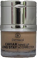 Profumi e cosmetici Correttore viso - Dermacol Caviar Long Stay Make-Up & Corrector