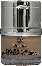 Profumi e cosmetici Correttore viso - Dermacol Caviar Long Stay Make-Up & Corrector