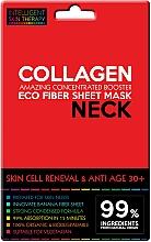 Profumi e cosmetici Maschera express per il collo - Beauty Face IST Skin Cell Reneval & Anti Age Neck Mask Marine Collagen