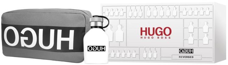 Hugo Boss Hugo Reversed - Set (edt/75ml+ bag) — foto N1